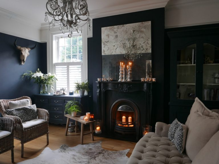 warm and cosy lounge